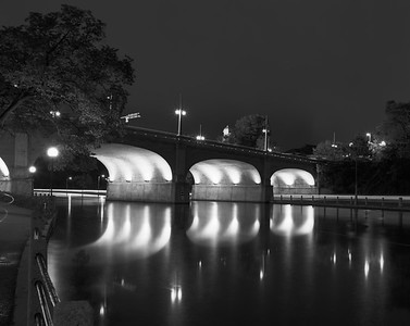 Pont Bank la nuit