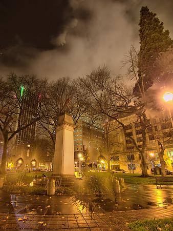 Portland at Night