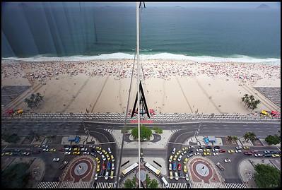 Reflection, Copacabana Beach
