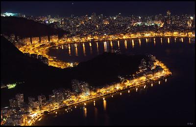 Rio Skyline at Night