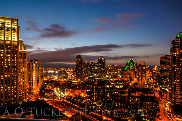 Downtown Dusk