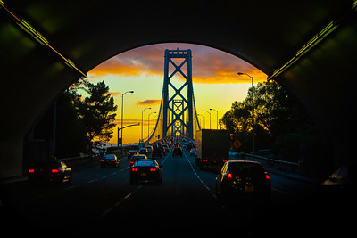 """The Bay Bridge"" - San Francisco, California"