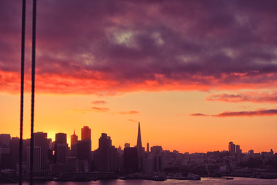 """The Golden Hour 1"" - San Francisco, California"