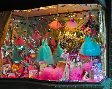 """""""Ballerina Baubles,"""" Saratoga Springs, NY."""