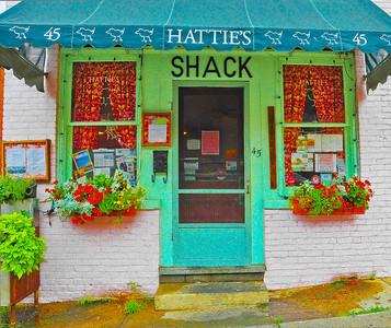 """""""Hattie's Shack,"""" Saratoga Springs, NY."""
