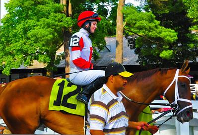 """""""Rosie #12,"""" Saratoga Race Course, Saratoga Springs, NY."""