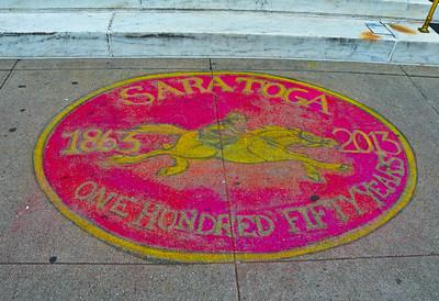 """""""150 Years,"""" Saratoga Springs, NY."""