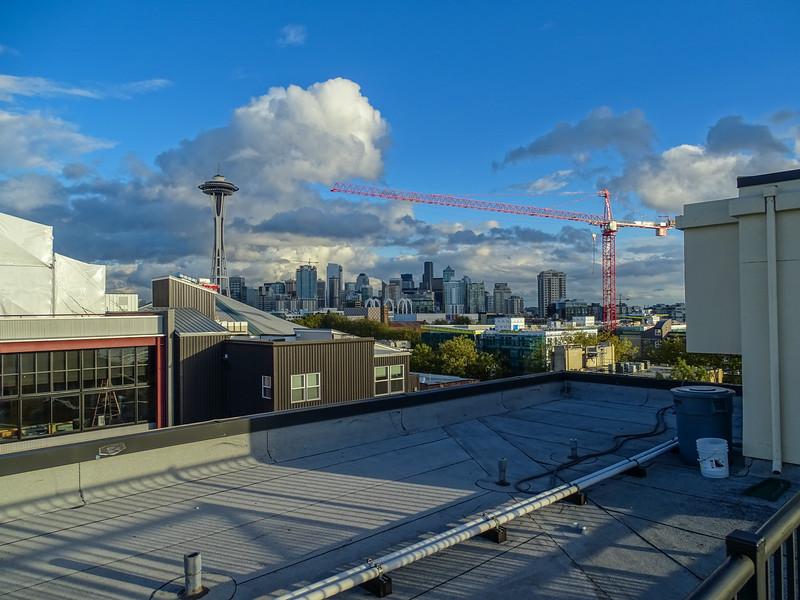 Space Needle, Seattle Washington.