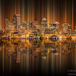 "Seattle Skyscrapper Reflection Gas works park<br /> <br /> I am thinking of something new and was playing with Photoshop CS6 after reading new book "" Mising Manual"". I thought of creating this image. <br /> <br /> I've completely redesigned my website. Please take a moment and have a look at my website and leave comment in ""Guestbook"""