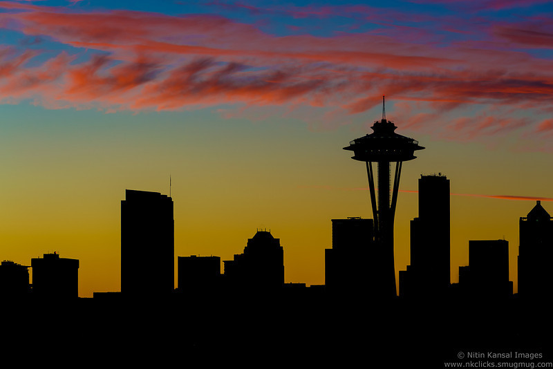 Lovely Sunrise in Seattle.