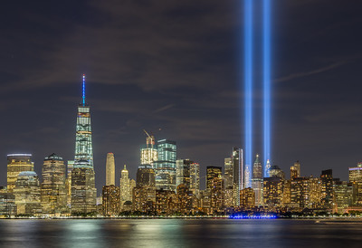 September 11 Tribute In Lights HDR