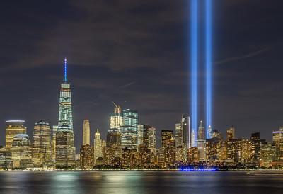 September 11 Tribute In Lights HDR