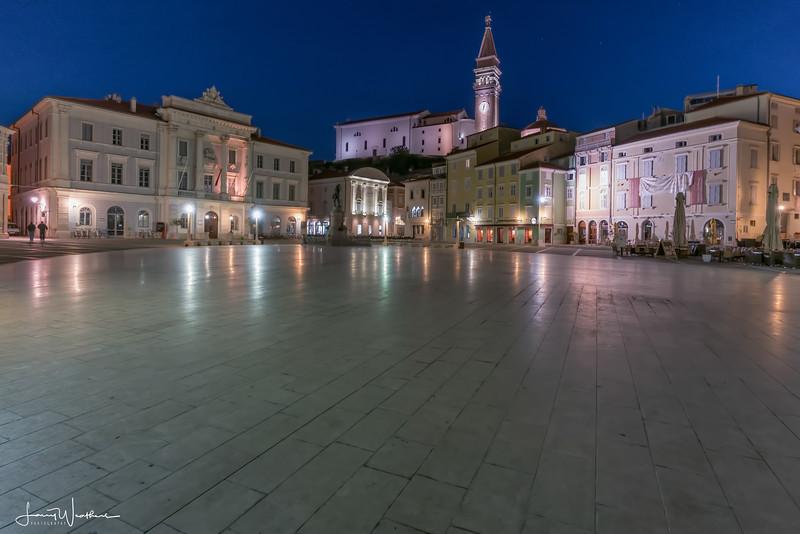 Evening in Tartini Square