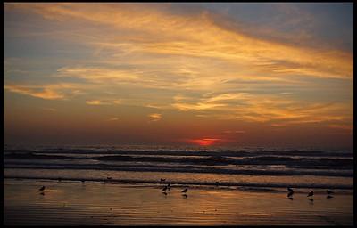 Morro Bay, sunset