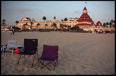 Hotel Del Coronado, Sunset