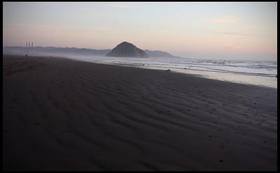 Morro Rock, dusk