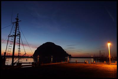 Morro Rock, early evening