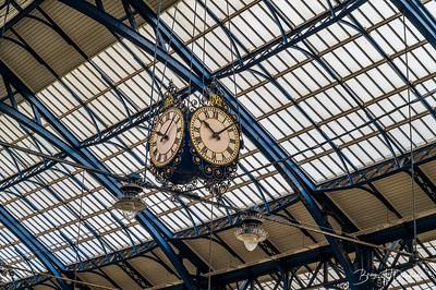 Brighton Station Clock