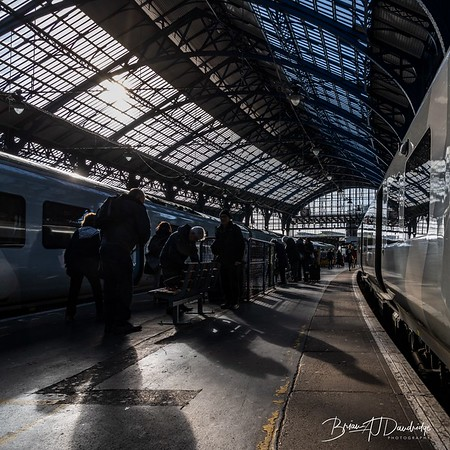 Silhouettes on Platform 5