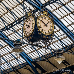 Brighton Station Clock