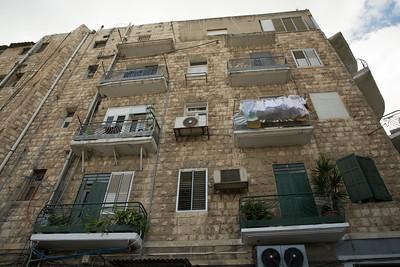 An Apartment Building in Haifa's Arab Quarter