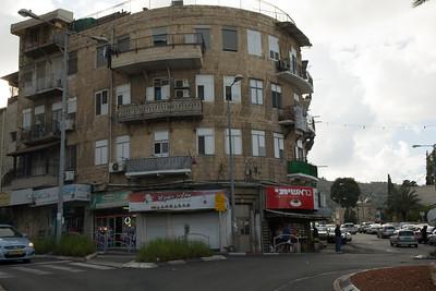 Street Scene in the Arab Quarter Haifa