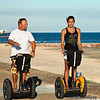 Segways on Galveston Seawall