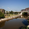 Buffalo Bayou from Fannin St. bridge, Houston