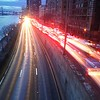 Traffic on the FDR - Color