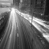 Traffic on the FDR - BW