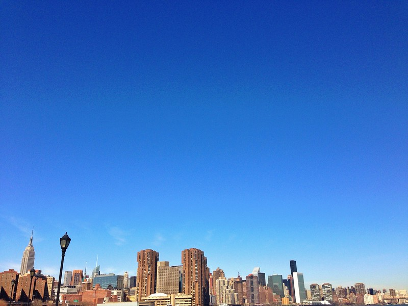 Panoramic View from the East River Greenway