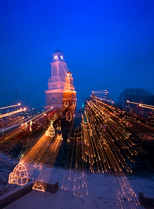Clock Tower Light Zoom