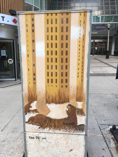 233 Yonge Street (Outside the Eaton Centre)
