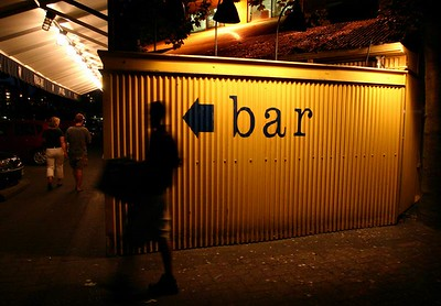This way to the bar