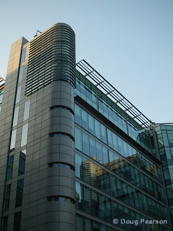Modern building near Paddington Station, London, UK, picture 3.