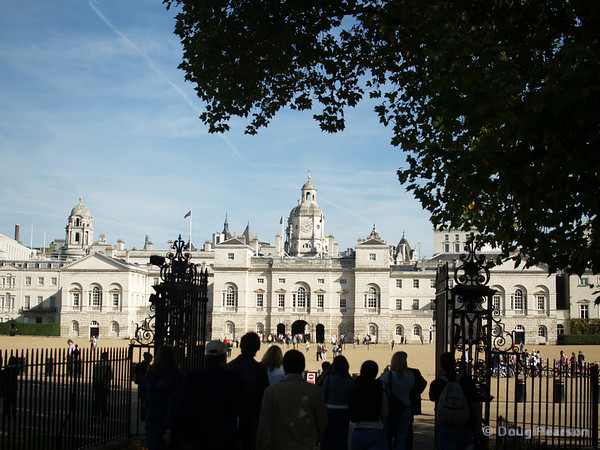 A view of Horse Guards Parade, London, UK