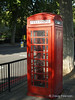 A red phone booth, London, UK