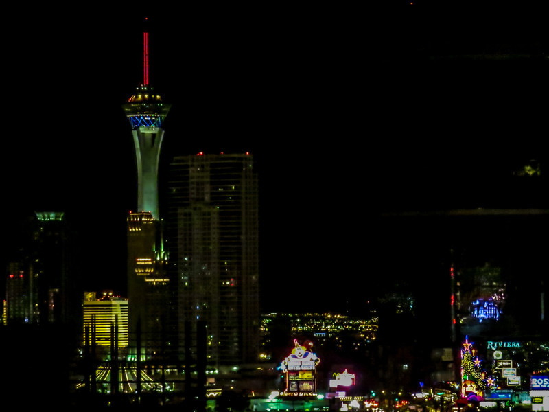 From my room at Treasure Island. Las Vegas, NV