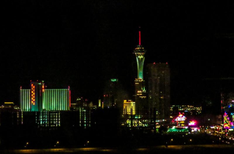 From my room at Treasure Island. Las Vegas, NV