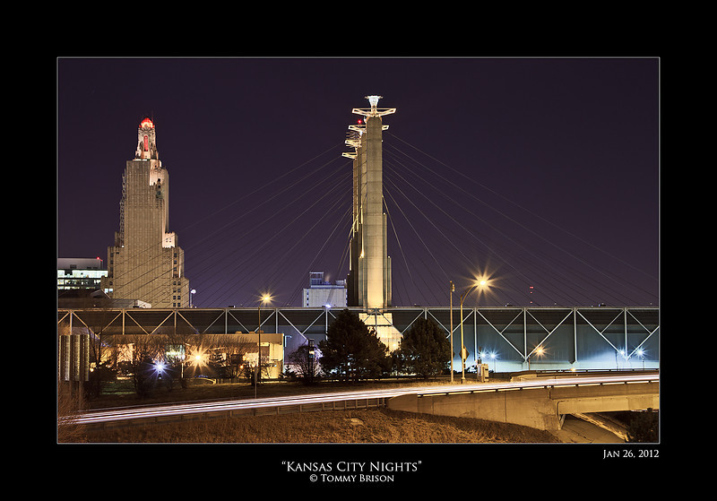As many photographers go in when it gets dark, I like to load up my gear and shoot.  There is so many beautiful things to shoot photography of here in Kansas City at night.  Both landscape and cityscape wise.