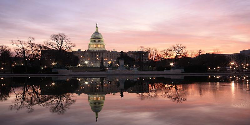 U.S. Capitol in Morning Light