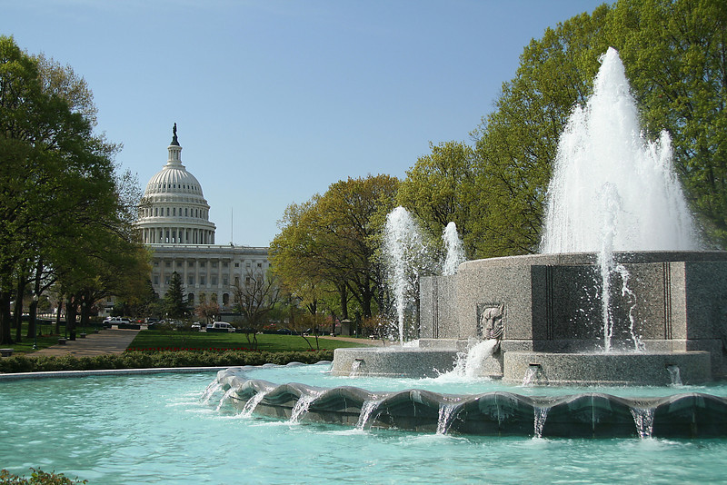 U.S. Capitol Fountains