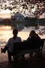 Watching the Sunrise - Jefferson Memorial