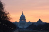 Capitol and Library of Congress Sunrise