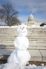 Snowman at the Capitol