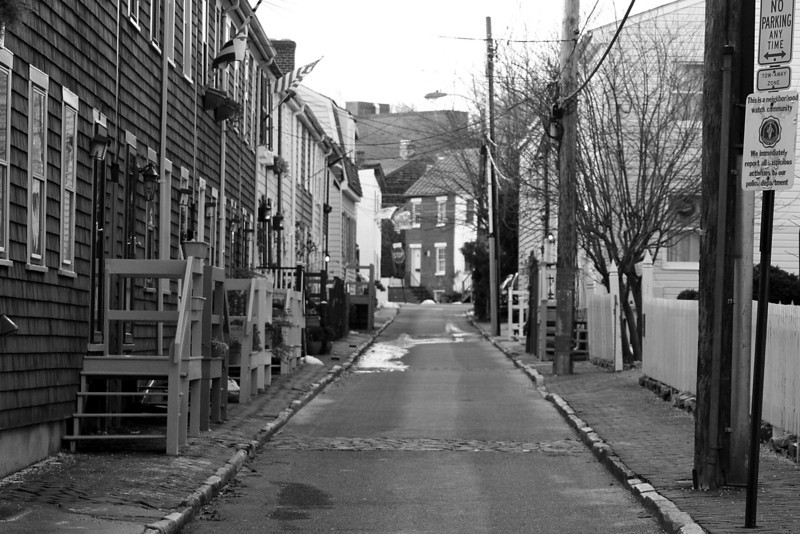 Historic Street - Annapolis, MD