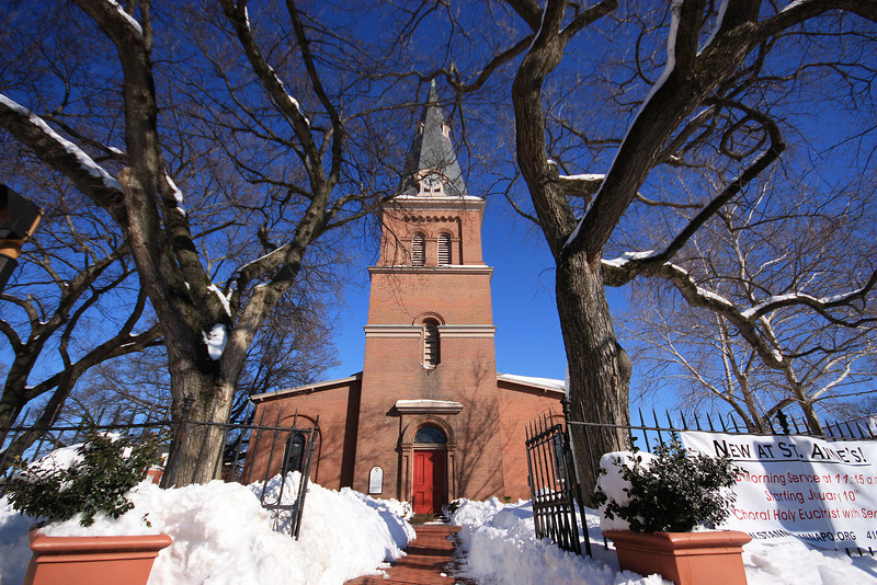 The Trees of St. Anne's Episcopal Church
