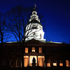 Maryland State House at Night