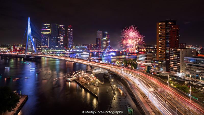 Vuurwerk Rotterdam