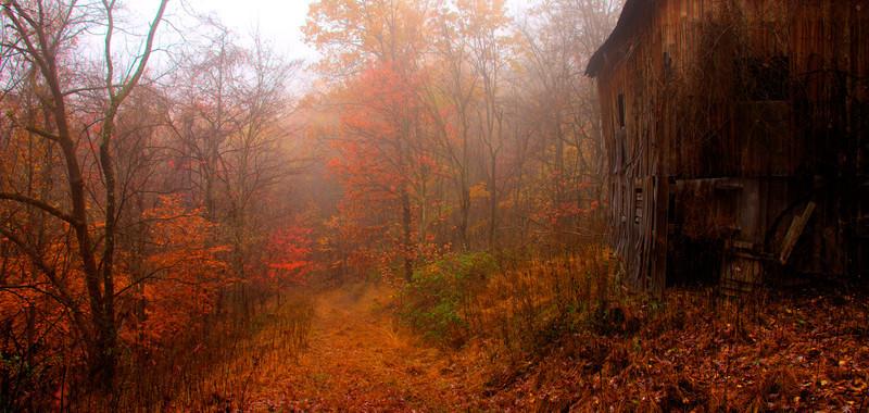 Barn near Waynesburg PA, September 2011